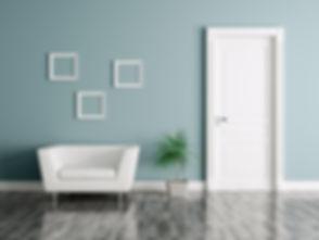 Interior with door