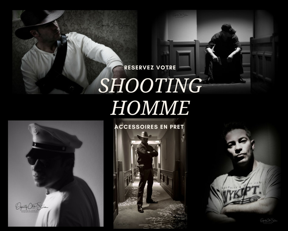 OFFRE SPECIALE SHOOTING HOMME