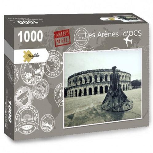 PUZZLE LES ARENES D'OCS 1000 pièces