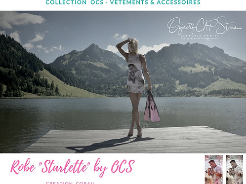 """ROBE DE PLAGE """"Starlette"""" by OCS"""