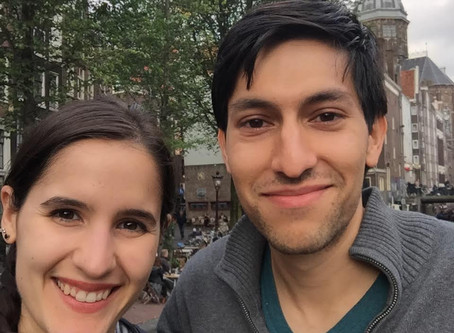 Featured Residents: Marco Zamora and Daniella Napolitano