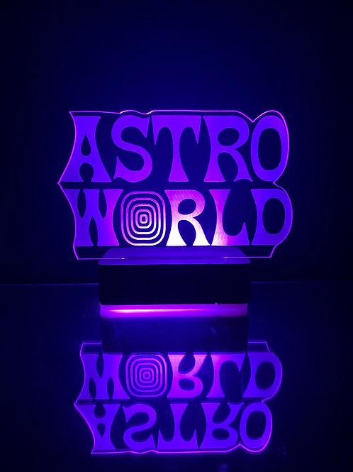 ASTROWORLD LAMP