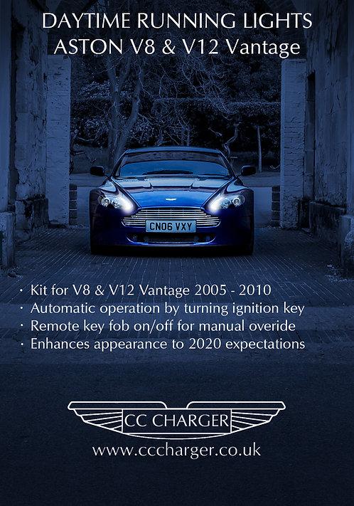 LED DAYTIME RUNNING LIGHTS RHD V8V 2005-10