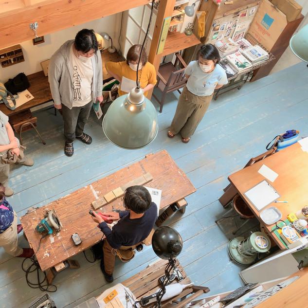 前田尚仁<前田建築事務所>/『初心者向けだけど、本格的な大工教室』2020.06.21(sun)