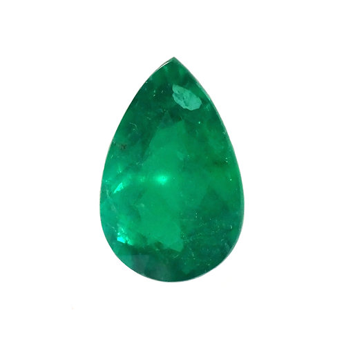 Pearshape Emerald 1.52 Carats