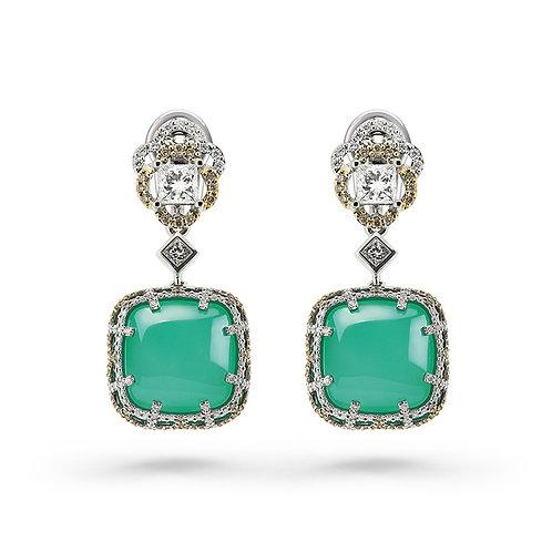18K Gold Romance D'Azure Earrings