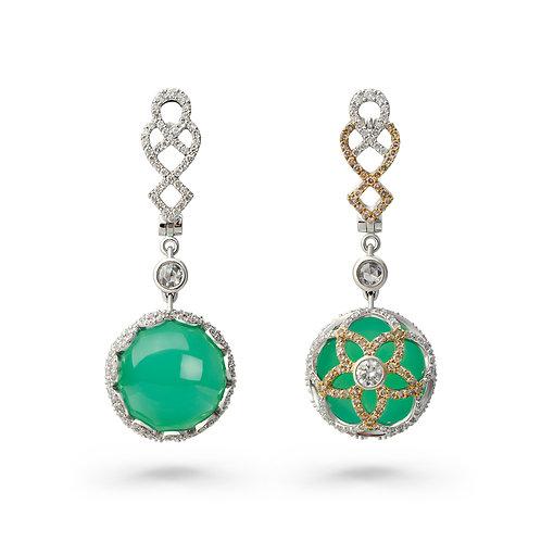 18K Gold Dynasty D'Azure Earrings