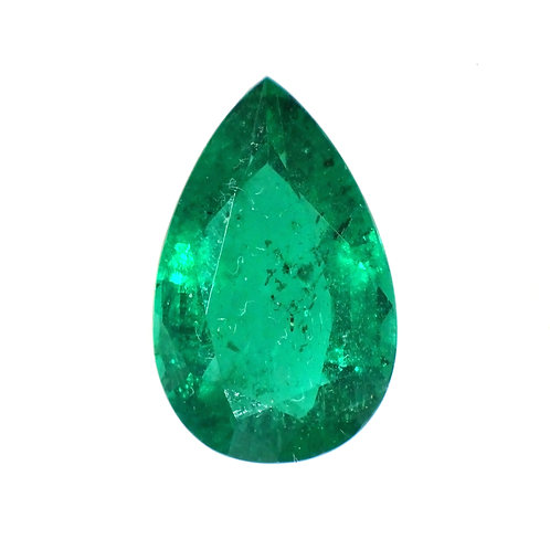 Pearshape Emerald 5.12 Carats