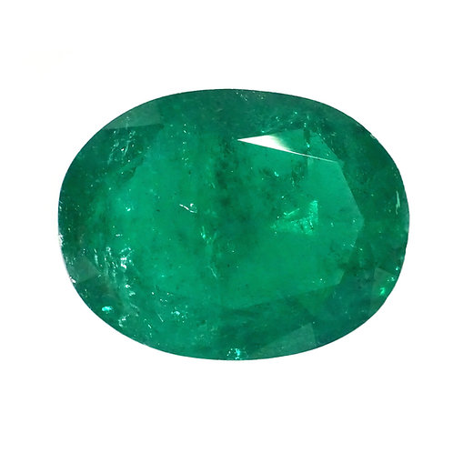 Oval Emerald 3.53 Carats