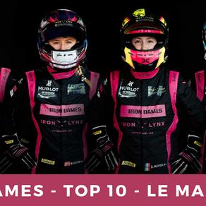 IRON DAMES - TOP 10 - LE MANS