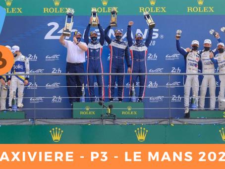 Matthieu Vaxivière P3 - Le Mans 2020