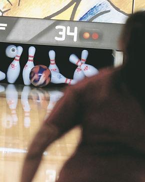 Personne bowling