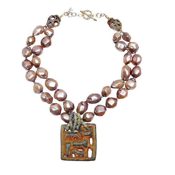 The Ancient Mixes with Natural Cultured Pearls