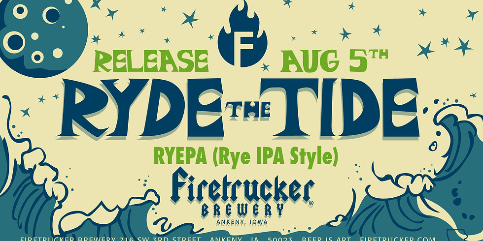 Ryed the Tide Beer Release