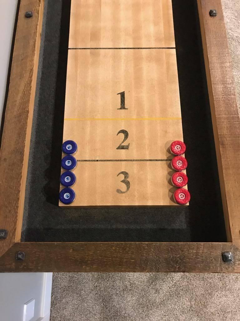 Shuffle board 1 2 3