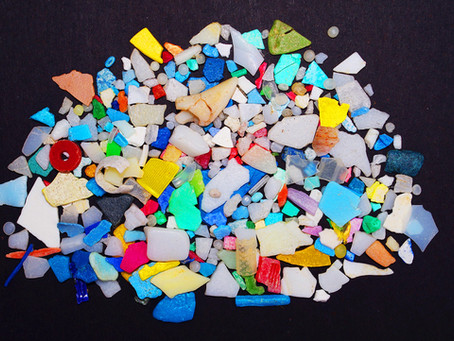 Breaking down microplastics