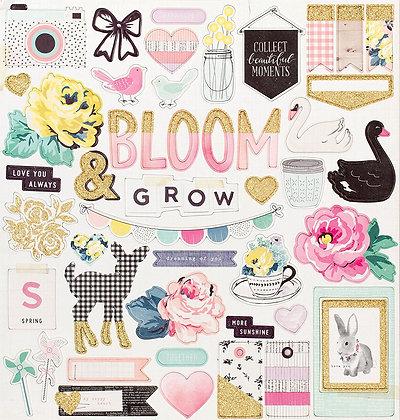 Maggie Holmes Bloom Chipboard