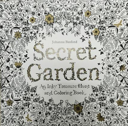 Seccret Garden Painting Book