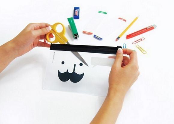 Mustach Pencil Case