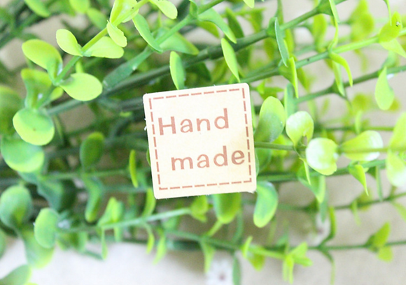 Hand Made Sticker