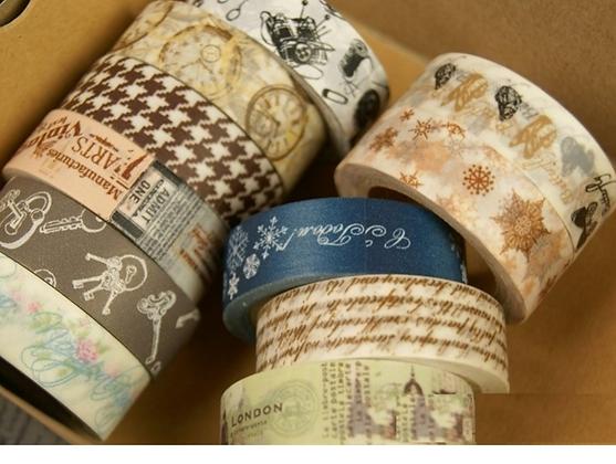 Vintage Washi Tape