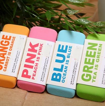 Colored Eraser