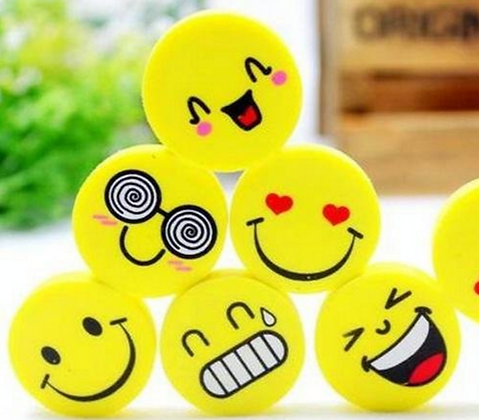 Smiley Face Eraser