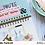 Thumbnail: C'est La Vie Chipboard Alphabet