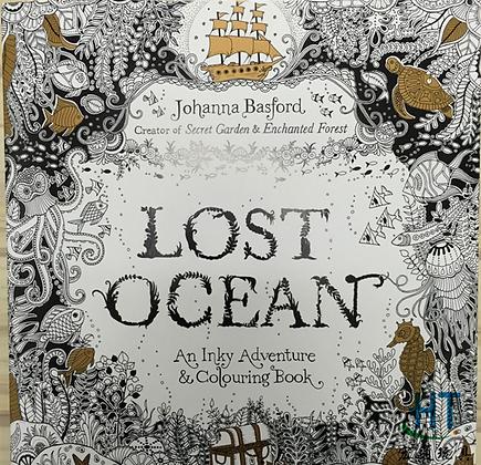 Lost Ocean Painting Book