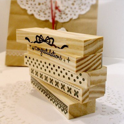 Lace Oblong Stamp