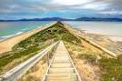 Bruny Island the neck look out