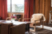 Luxury accommodation Hobart Tasmania living room