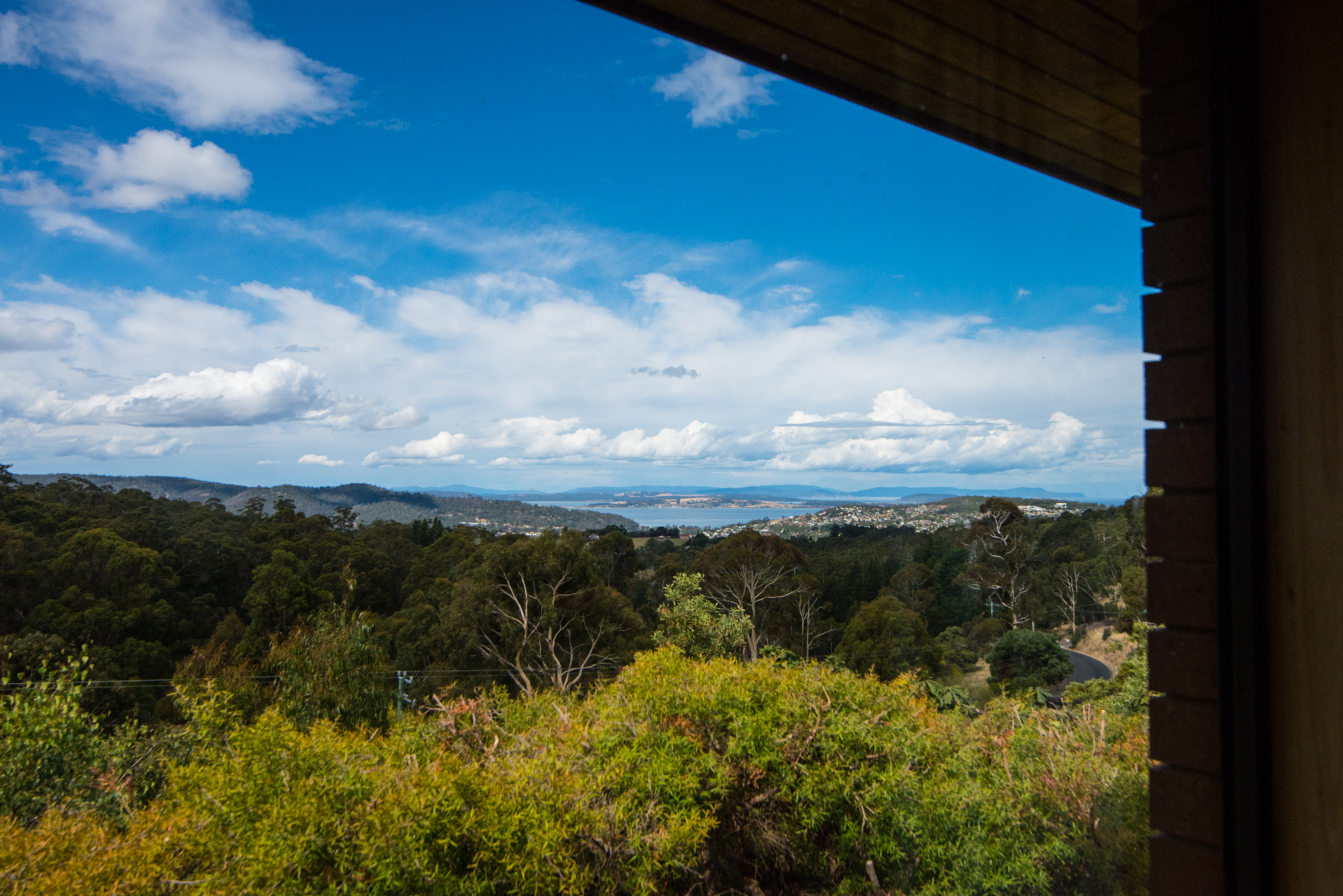 View and light luxury Hobart stay