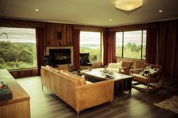 Living room Luxury stay Hobart