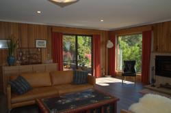 Living room toward patio