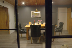 Dining room night The Hobart Entranc