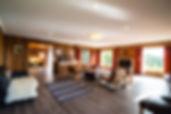 Luxury accommodation Hobart Tasmania living room open space