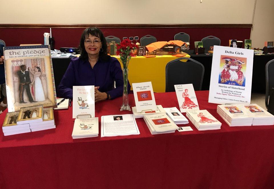 Soror Moye' book signing