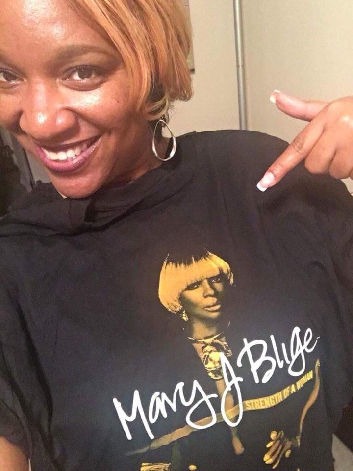 Soror Bond @ Mary J Blige concert
