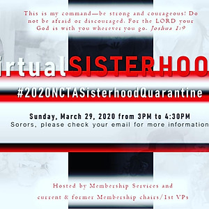 Sisterhood Month (Virtual)