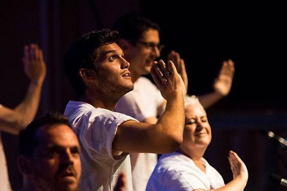 Lengua de signos, espectáculo Anima, Barcelona Gay Men's Chorus