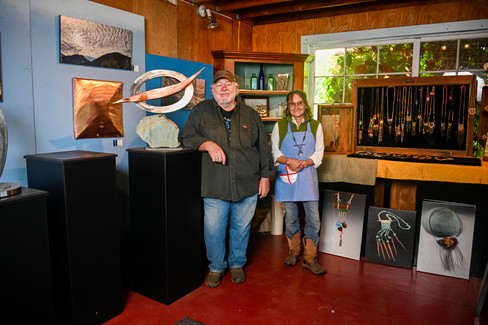 Don Anderson and Suzanne Averre