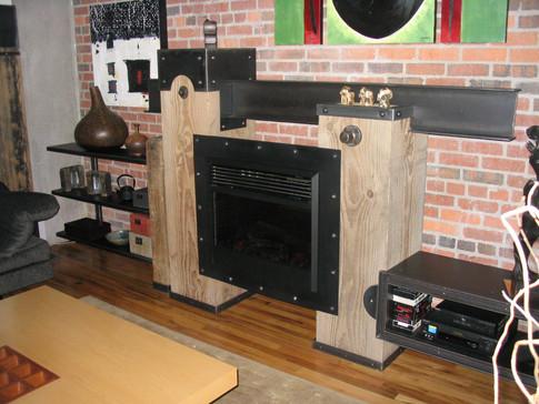 Custom Fireplace Installation Denver Loft