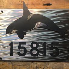Orca Address Sign