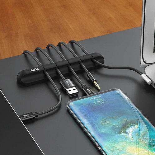 Organizador de cables de dispositivos para escritorio (2 Unidades -25%)