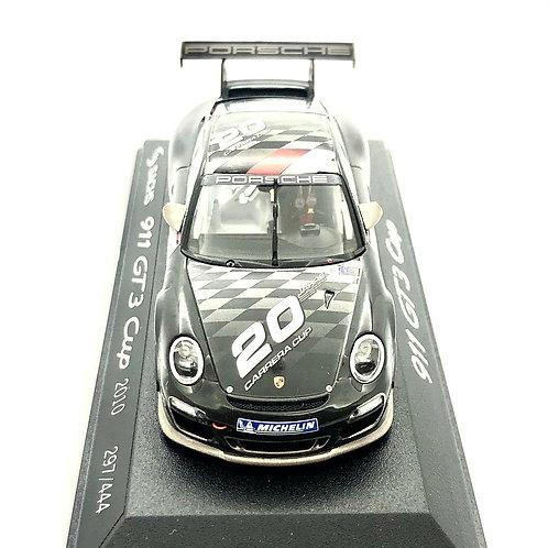 Porsche 911 RSR Modelo a escala 1:43 GT3 Cup Negro/ Gris #1