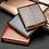Thumbnail: Billetera Clásica de cuero a Rayas