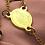 Thumbnail: Rosario Medalla Milagrosa Acero Dorado+Neopreno