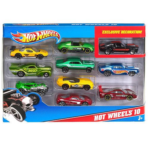 Hot Wheels Paquete de 10