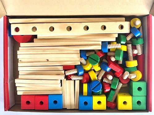 Kit Multifiguras para Armar en Madera